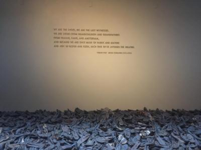Civil Rights Tour: TJ Funso at the United States Holocaust Memorial Museum